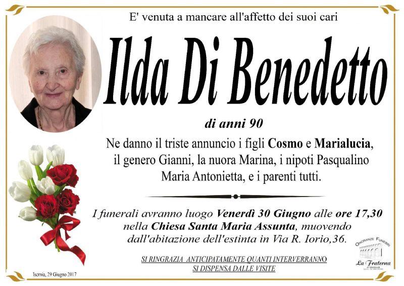 Ilda Di Benedetto, 29/06/2017, Isernia – Onoranze Funebri La Fraterna