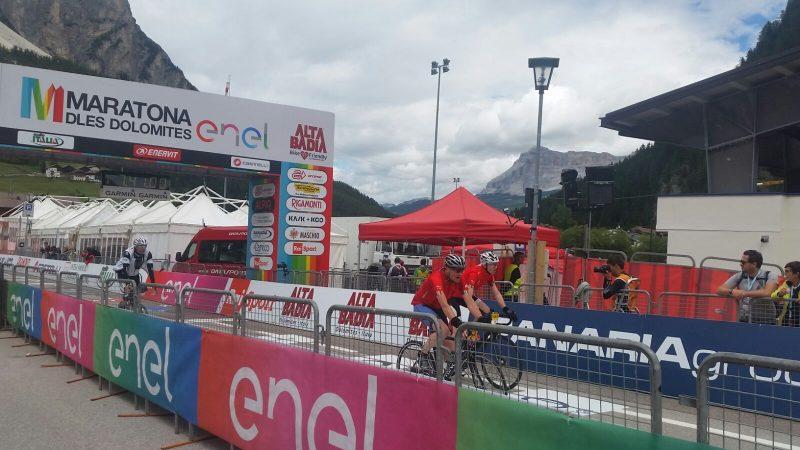 Ciclismo, anche tre molisani alla Maratona dles Dolomites 2017