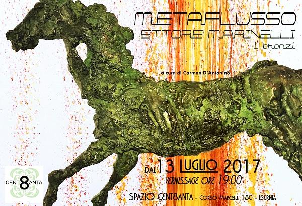 ARTE – 'Metaflusso', personale di scultura di Ettore Marinelli