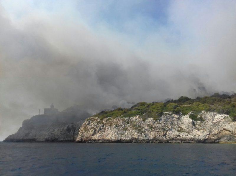 Focolai alle Isole Tremiti, situazione sotto controllo
