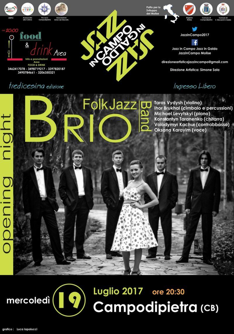 A Jazz in Campo di scena la musica balcanica