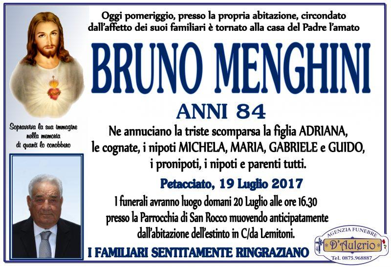 Bruno Menghini, 19/07/2017, Petacciato – Agenzia Funebre D'Aulerio