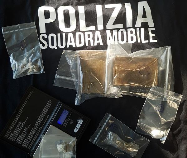 Blitz antidroga, due arresti