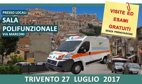 Prevenzione cardiovascolare, domani visite gratuite a Trivento