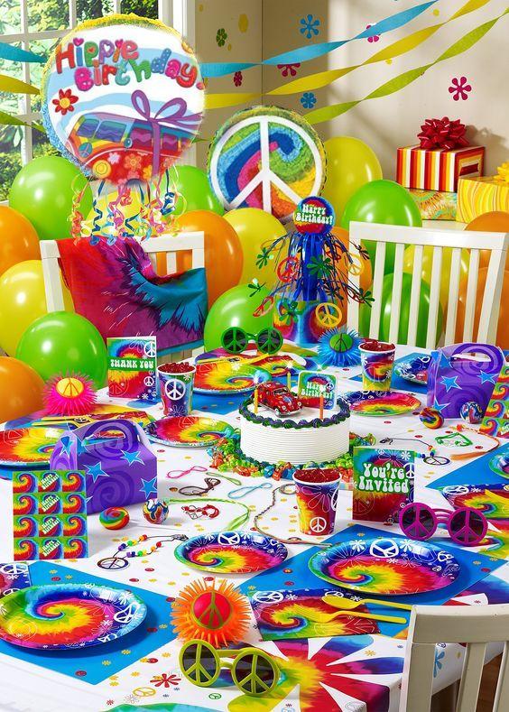 Una festa di compleanno a tema Hippie… Birthday!