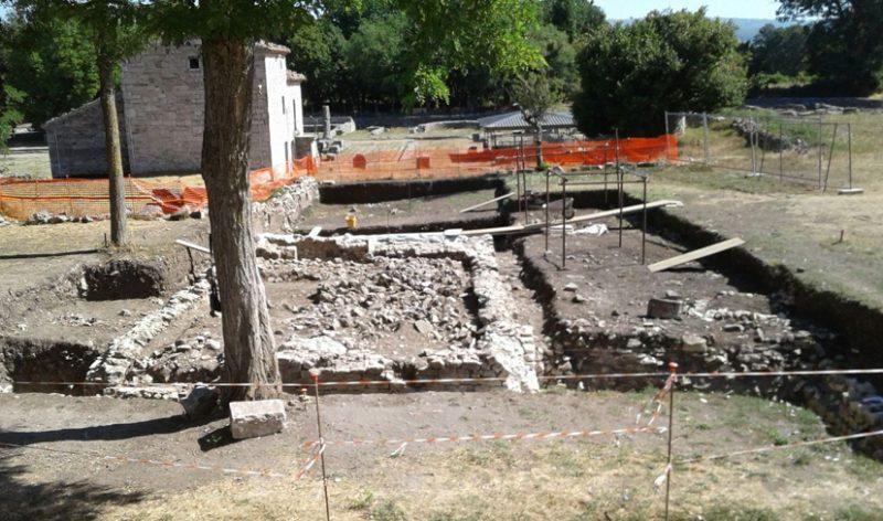 Sepino, riportato alla luce un tempio del I secolo a.C.
