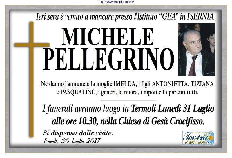 Michele Pellegrino, 30/07/2017, Termoli – Onoranze Funebri Iovine