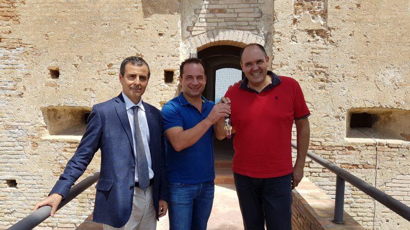 Torre di Montebello, ieri la riconsegna delle chiavi al Comune di Montenero