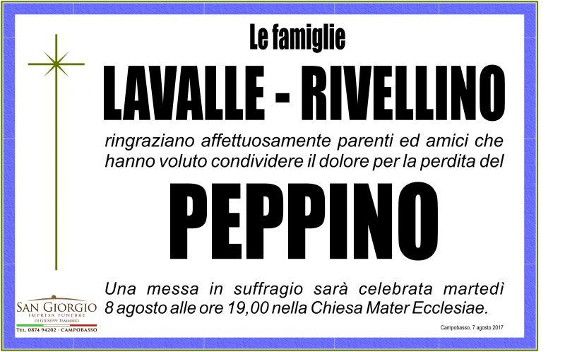Ringraziamento famiglie Lavalle e Rivellino – Campobasso