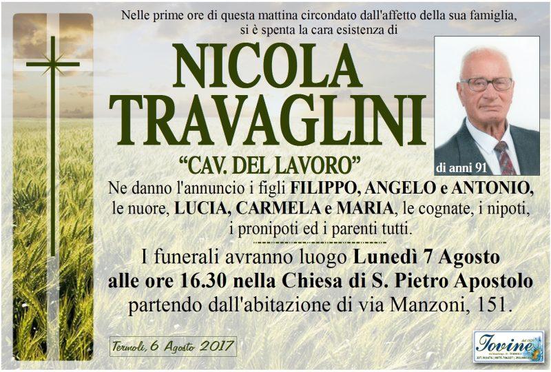 Nicola Travaglini, 06/08/2017, Termoli – Impresa Funebre Iovine
