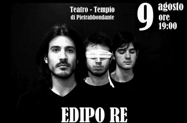 TEATRO – Il Majorana-Fascitelli in scena a Pietrabbondante con l'Edipo Re