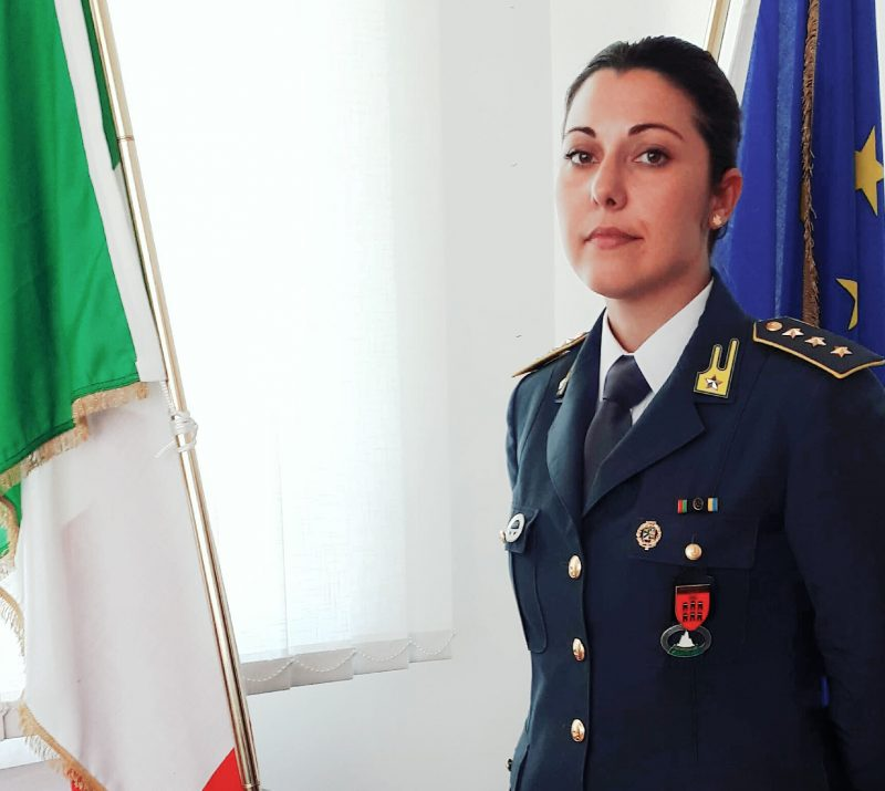 Fiamme Gialle, il Capitano Alessia Iacomino nuovo Comandante della Compagnia di Termoli