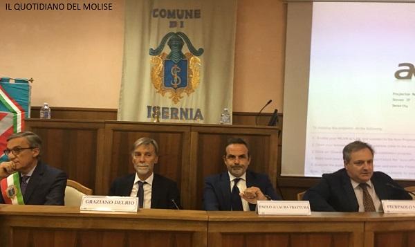 Ferrovie del Molise: Delrio, Gentile e Frattura firmano il protocollo d'intesa