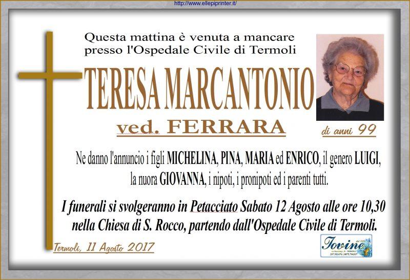 Teresa Marcantonio – 11/08/2017-Petacciato-Jovine