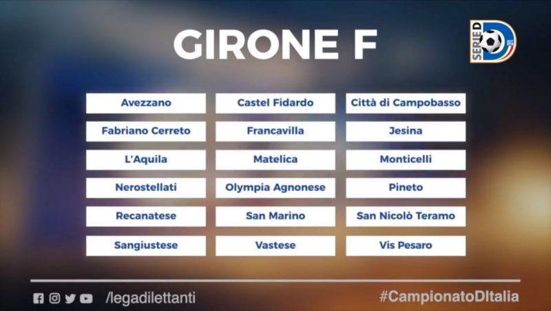 Campobasso e Agnone ancora nel girone F. Domenica 20 parte la Coppa Italia