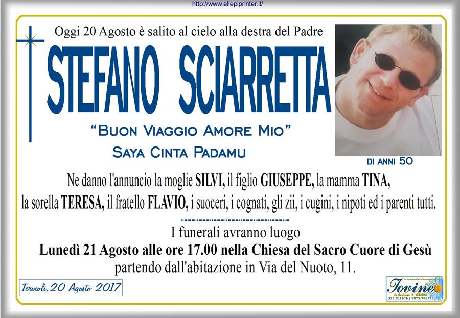 Stefano Sciarretta – 20/08/2017 – Termoli – Onoranze funebri Iovine