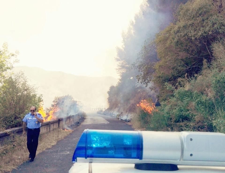 Incendi a Venafro, Petraroia scrive al governo: verifiche sulle responsabilità istituzionali