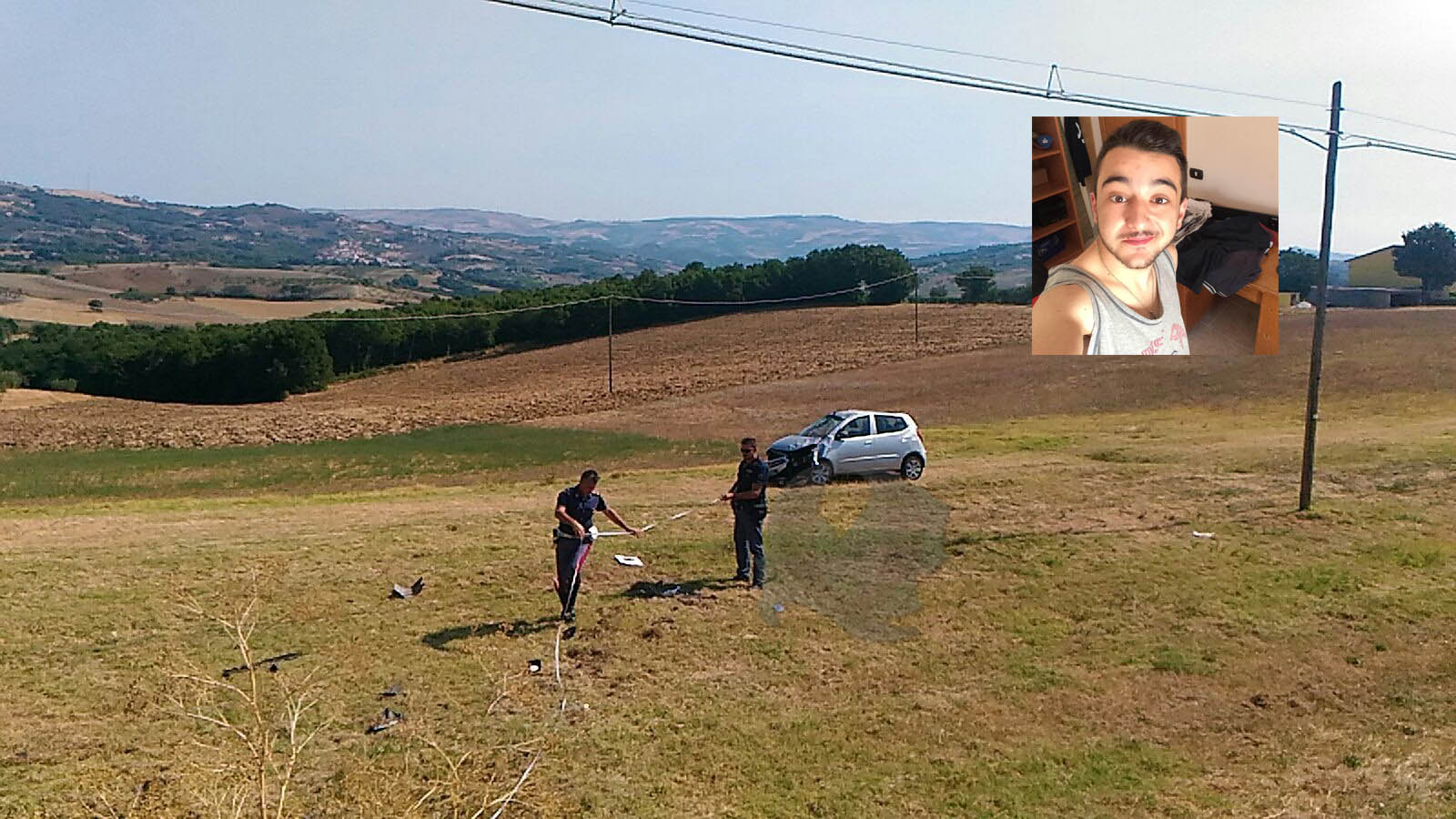 Ancora un incidente mortale sulle strade molisane: 20enne perde la vita nei pressi di Campodipietra