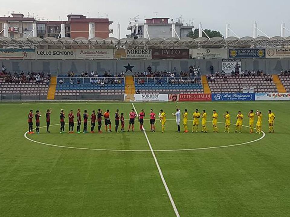 Coppa Italia, il Campobasso si impone a Frattamaggiore e passa il turno