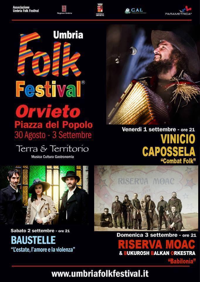 I Riserva Moac suoneranno all'Umbria Folk con Vinicio Capossela e Baustelle