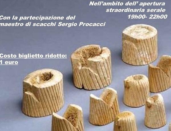 INIZIATIVE – Partita a scacchi con figuranti al Museo Archeologico di Venafro