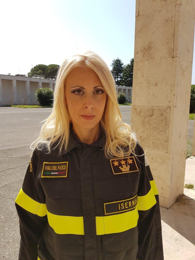 Raffaella Pezzimenti nuovo comandante dei vigili del fuoco di Isernia
