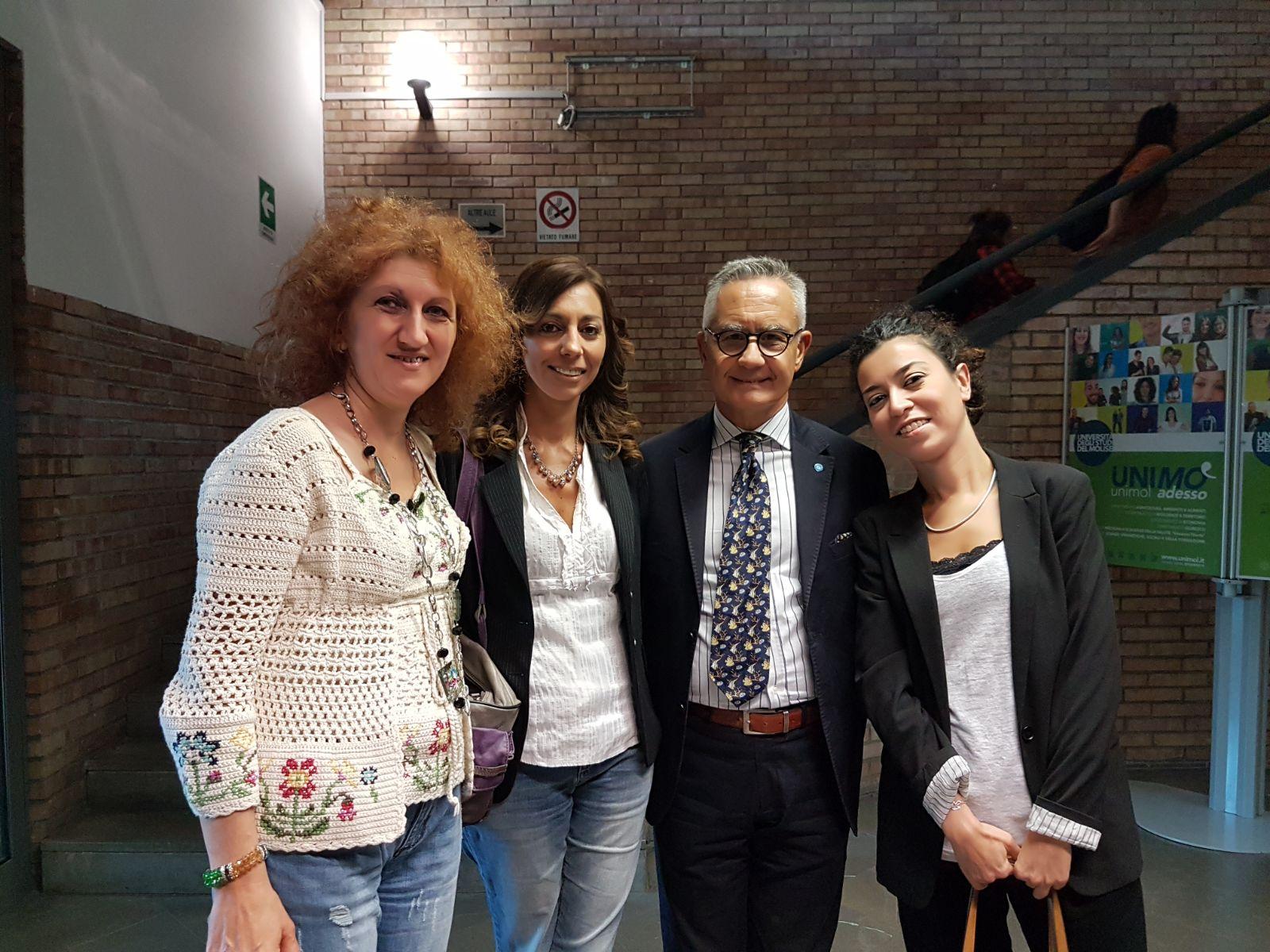 L'ex comandante dei R.I.S. Luciano Garofano ospite all'Unimol