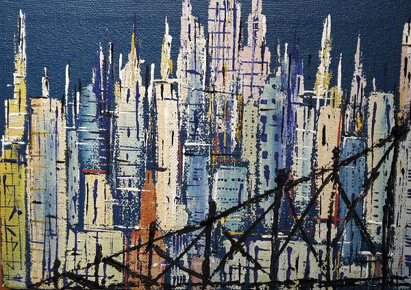 ARTE – Flash City 4.0, personale di pittura di LeoPapp