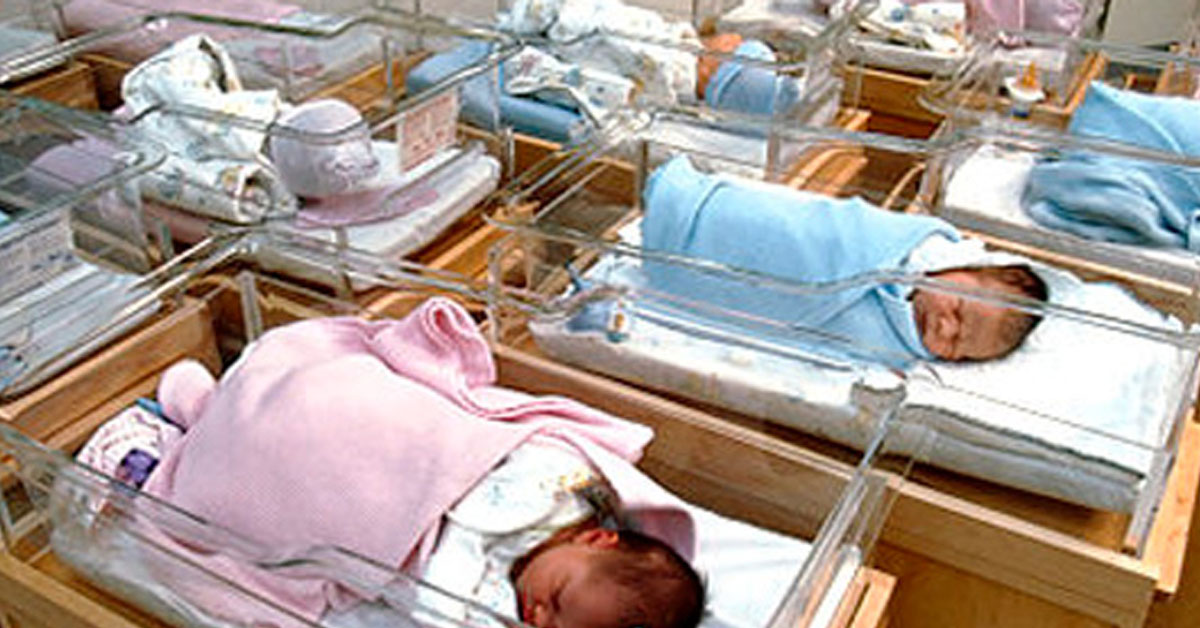 SOCIETA' – Cicogna record a Isernia. Nati 11 bimbi in un giorno
