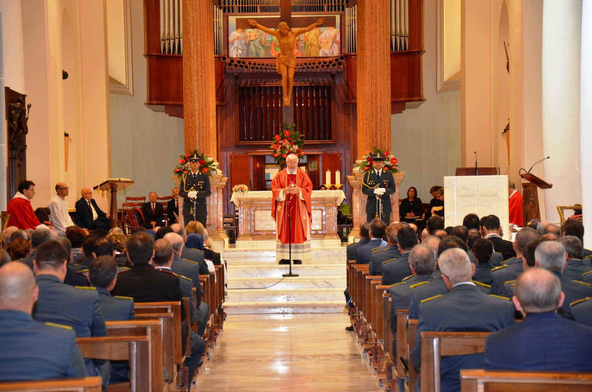 San Matteo, celebrato il patrono della Guardia di Finanza