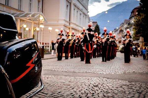 La Fanfara dei Carabinieri a Isernia per la festa di San Cosma e Damiano