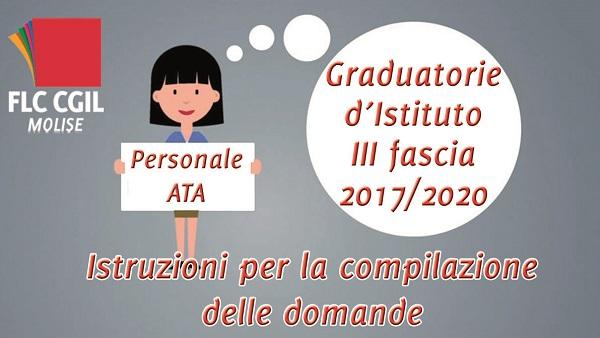 Graduatorie ATA: al via la presentazione delle domande. Istruzioni della CGIL per la compilazione
