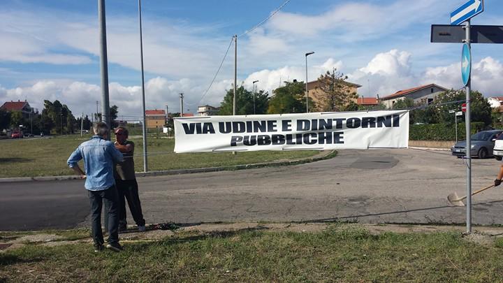 Buone notizie per via Udine