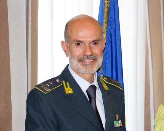 Il generale Carlo Ricozzi in visita al Comando della Guardia di Finanza di Isernia