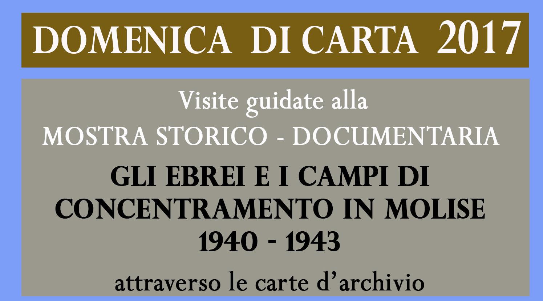 Domenica di carta, apertura straordinaria dell'Archivio di Stato