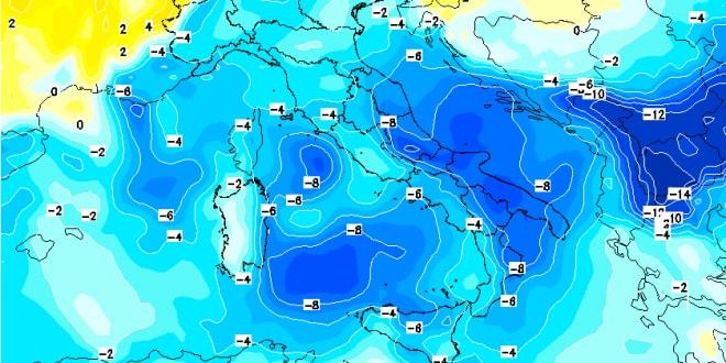 Temperature in calo, 'assaggio' d'inverno nel week end