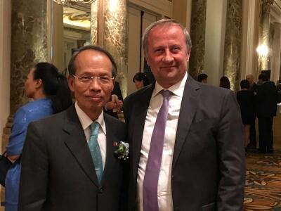 Italia-Cina, Paglione invitato alla 106° Festa nazionale della Repubblica di Cina in Italia