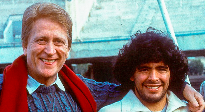 """Morte Biscardi, Maradona: """"Un grande uomo"""""""