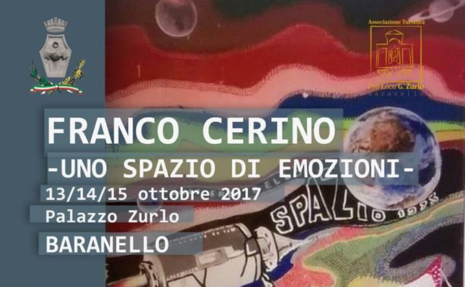 """""""Uno Spazio di Emozioni"""", a Baranello la mostra dedicata a Franco Cerino"""