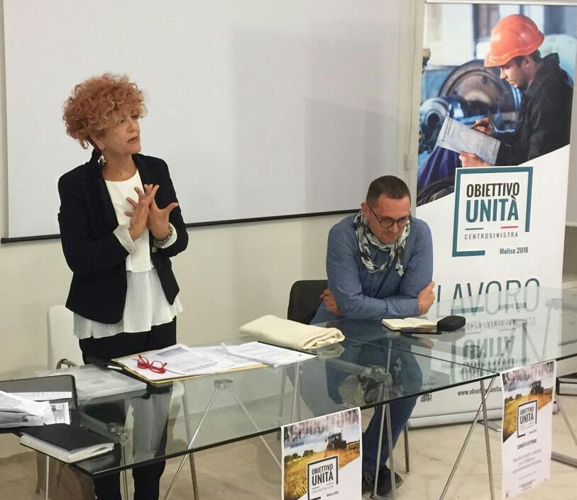 Domani Renzi in Molise, Venittelli: unità è la parola chiave per il centrosinistra