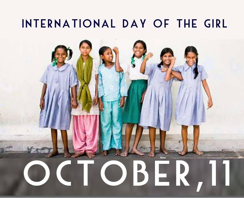 INIZIATIVE – Giornata mondiale delle Bambine e delle Ragazze