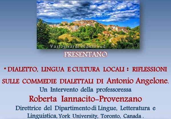 Vastogirardi, dibattito sulle commedie dialettali di Antonio Angelone