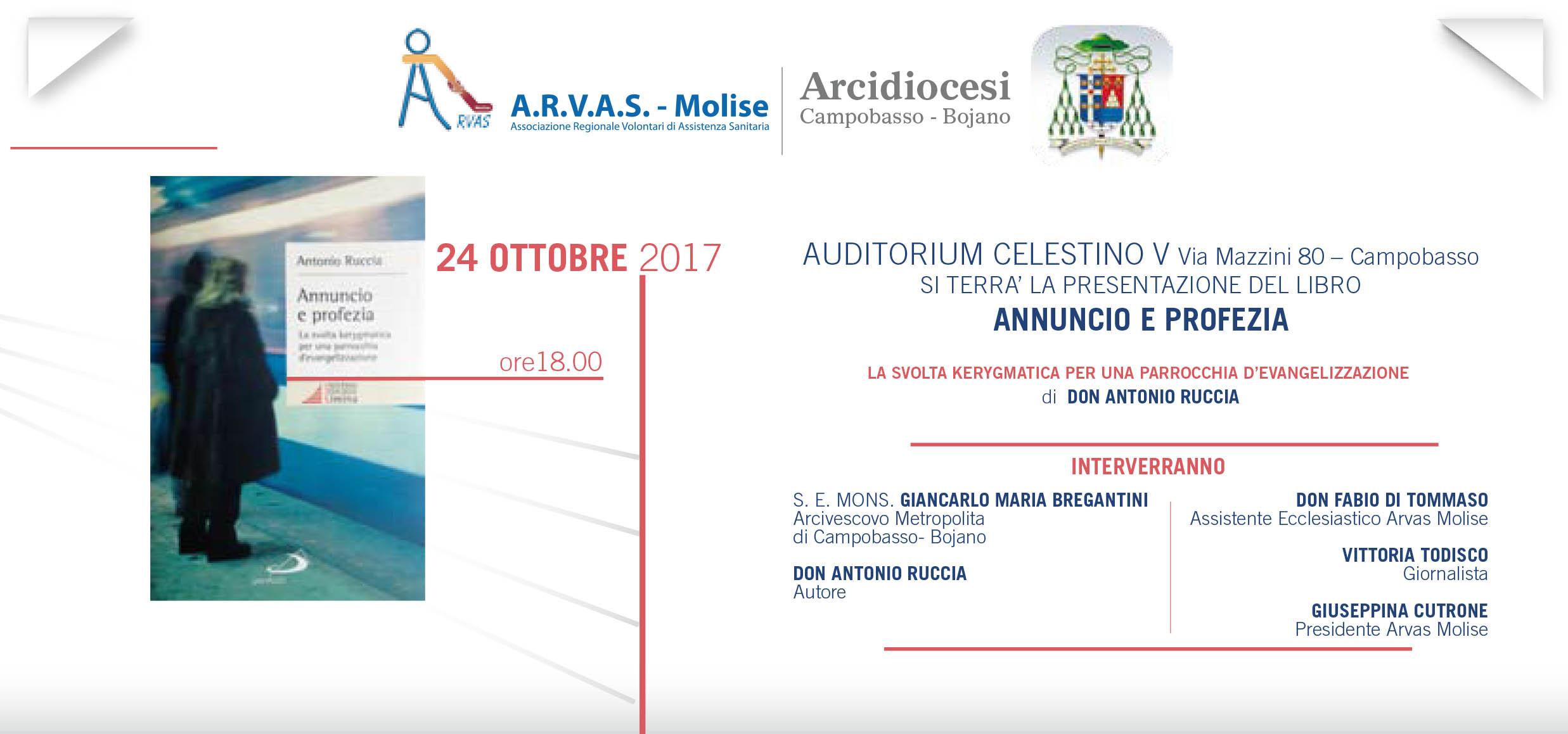 Annuncio e Profezia, domani incontro con Don Antonio Ruccia
