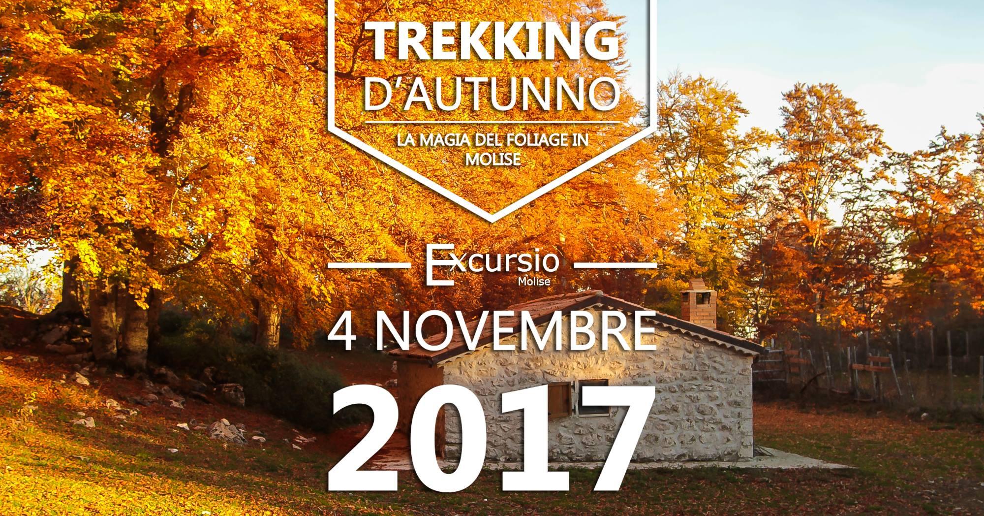 INIZIATIVE – Trekking d'autunno, il 4 novembre appuntamento a Civita