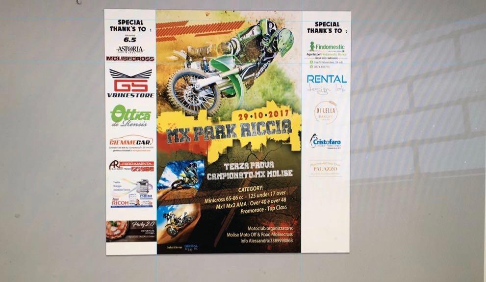 """Domenica all'insegna del motocross con """"Mx Park Riccia"""", in sella alle due ruote: molisani, abruzzesi, campani e pugliesi"""