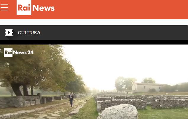 Saepinum Altilia su Rai News. Il bel Molise sul sito online di notizie in tempo reale
