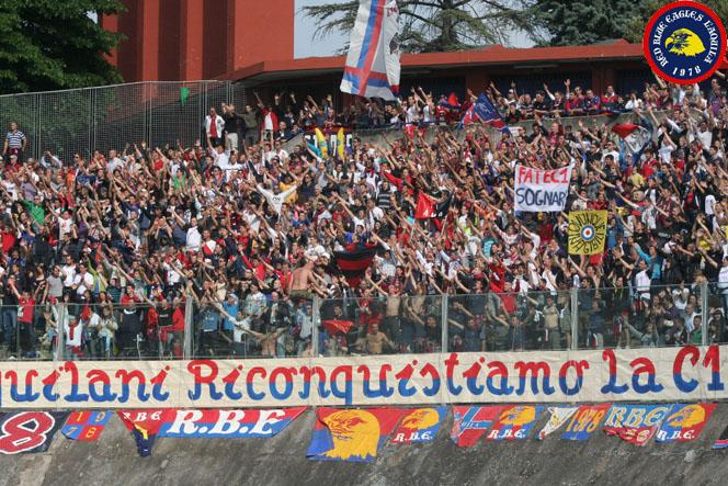 Il L'Aquila a Campobasso grazie ai tifosi: colletta per viaggio e albergo