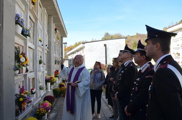 Isernia, commemorati i militari dell'Arma caduti in servizio