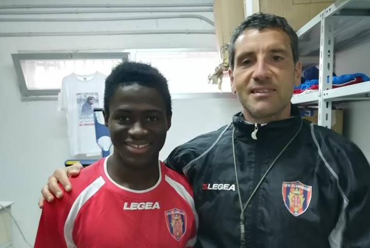 """Il Campobasso tessera Augustus: """"Felice di aiutare la squadra"""""""