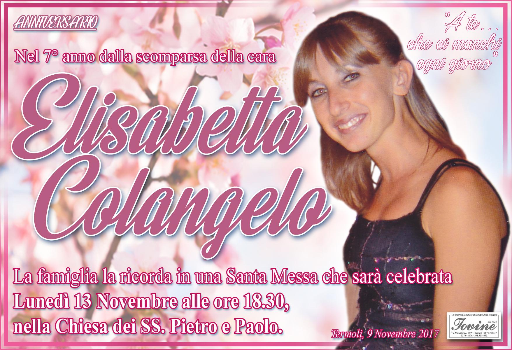 Elisabetta Colangelo – 08/11/2017 – Termoli – Onoranze Funebri Jovine